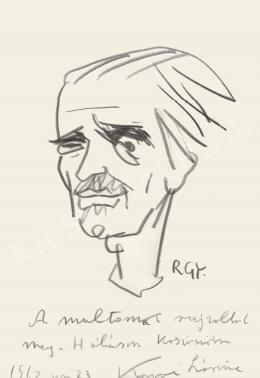 Rózsahegyi György - Kovai Lőrinc író portréja