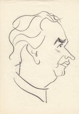 Rózsahegyi György - Képes Géza költő portréja