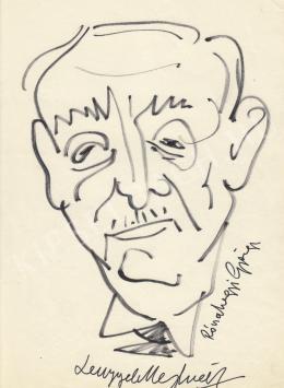 Rózsahegyi, György - Portrait of Menyhért Lengyel Screenwriter, Writer