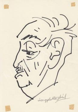 Rózsahegyi György - Lengyel Menyhért író, forgatókönyvíró portréja