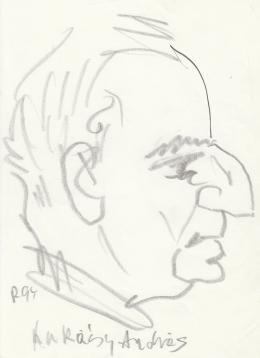 Rózsahegyi György - Lukácsy András író portréja