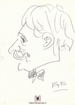 Rózsahegyi György - Lakos Zoltán portréja