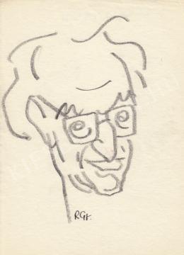 Rózsahegyi, György - Portrait of György Lukács Philosopher, Aesthetician