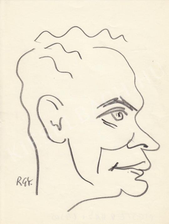 Eladó  Rózsahegyi György - Mesterházi Lajos író portréja festménye