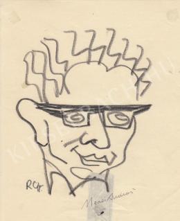 Rózsahegyi György - Mezei András író portréja