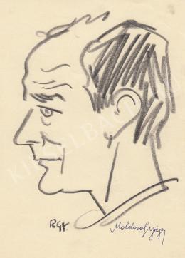 Rózsahegyi György - Moldova György író portréja
