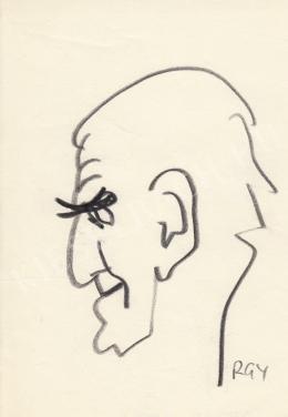 Rózsahegyi György - Ottlik Géza író portréja