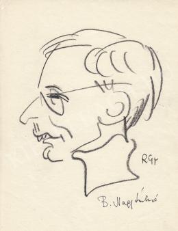 Rózsahegyi György - B. Nagy László dramaturg, újságíró portréja
