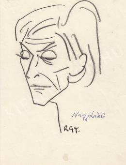 Rózsahegyi, György - Portrait of László Nagy Poet