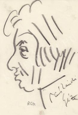 Rózsahegyi György - Páskándi Géza író, költó, dramaturg portréja