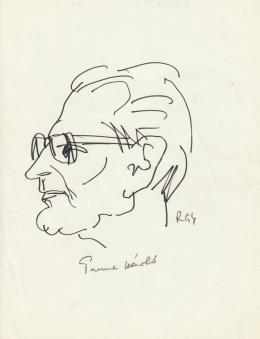 Rózsahegyi György - Passuth László író portréja