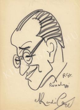 Rózsahegyi György - Radó György író portréja