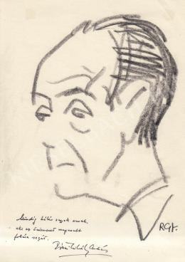 Rózsahegyi, György - Portrait of András Mihály Rónai Poet