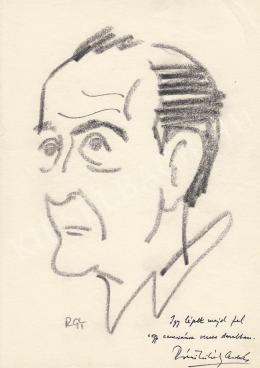 Rózsahegyi György - Rónai Mihály András költő portréja