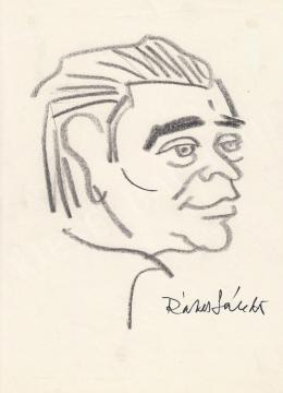 Rózsahegyi György - Rákos Sándor költő portréja