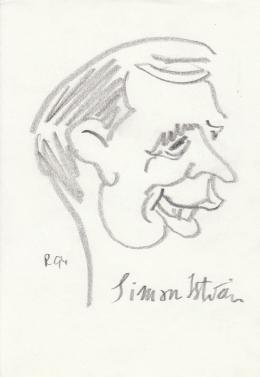 Rózsahegyi György - Simon István szerkesztő, költő portréja