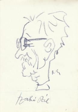 Rózsahegyi, György - Portrait of Pál Szabó Novelist, Politician