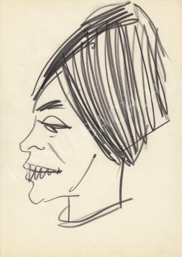 Rózsahegyi György - Szabó Magda író, költő portréja