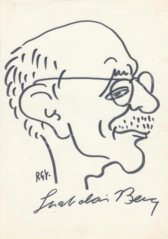 Eladó  Rózsahegyi György - Szabolcsi Bence zenetörténész portréja festménye