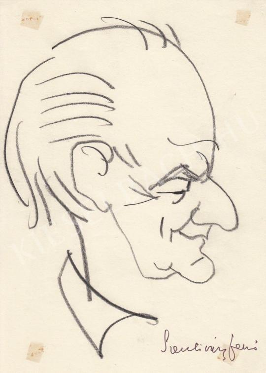 Eladó  Rózsahegyi György - Szentiványi Jenő író portréja festménye