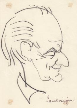 Rózsahegyi György - Szentiványi Jenő író portréja