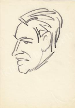 Rózsahegyi György - Székely Dezső író portréja