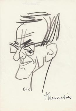 Rózsahegyi György - Thurzó Gábor író portréja