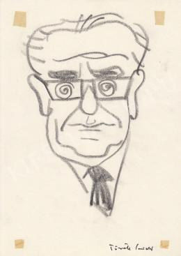 Rózsahegyi, György - Portrait of Vidor Török Director