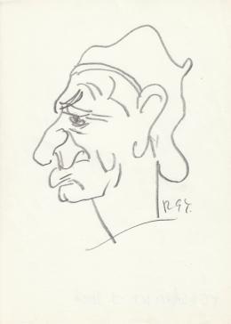 Rózsahegyi György - Tersánszky Józsi Jenő író portréja