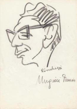 Rózsahegyi, György - Portrait of Tamás Ungvári Critical, Writer