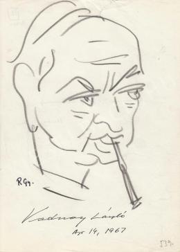 Rózsahegyi György - Vadnay László író, forgatókönyvíró, humorista portréja