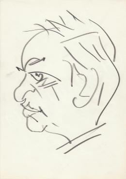 Rózsahegyi, György - Portrait of László Vadnay Writer, Humorist, Screenwriter