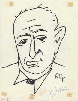 Rózsahegyi György - Vass István költő portréja