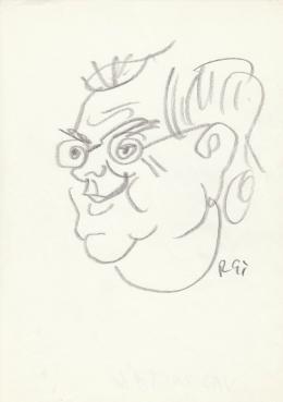 Rózsahegyi György - Vas Zoltán portréja