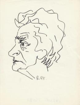 Rózsahegyi György - Várnai Zseni költő portréja