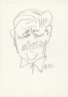 Rózsahegyi György - Veres Péter író, politikus portréja