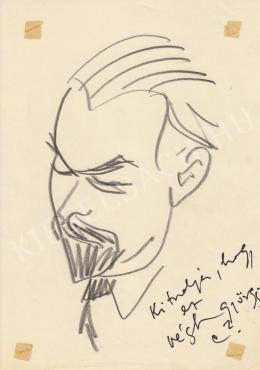 Rózsahegyi György - Végh György író, költő portréja