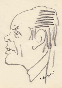 Rózsahegyi György - Vidor Kálmán portréja