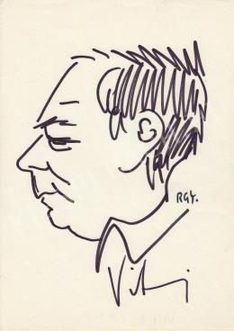 Rózsahegyi, György - Portrait of Tamás Vitray Reporter, Journalist