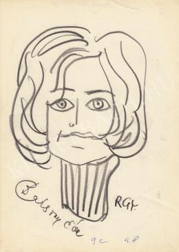 Rózsahegyi György - Bársony Éva portréja
