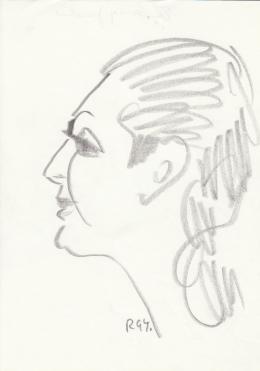 Rózsahegyi György - Endrei Judit bemondó portréja