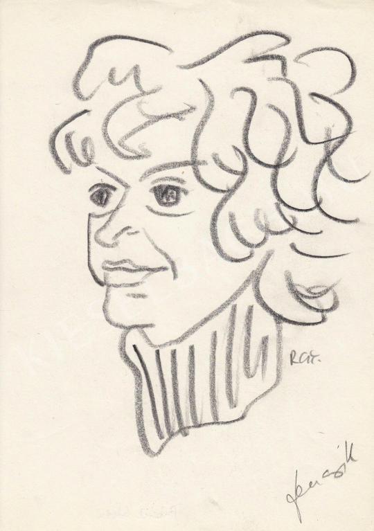 Eladó  Rózsahegyi György - Fencsik Flóra író portréja festménye