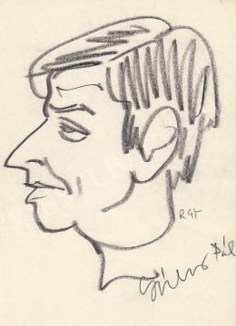 Rózsahegyi, György - Portrait of Pál Gábor G. Director