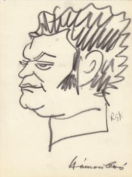 Rózsahegyi, György - Portrait of Otto Hámori Journalist, Writer