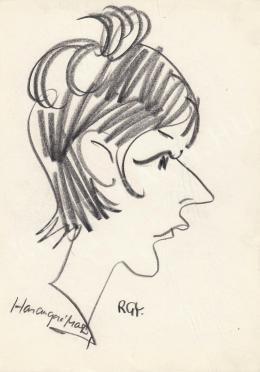 Rózsahegyi György - Harangozó Márta újságíró portréja