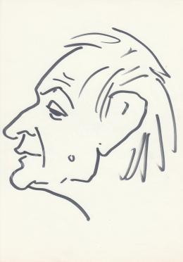 Rózsahegyi, György - Portrait of Miklós Jancsó Director