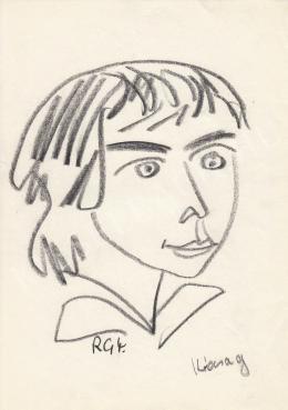Rózsahegyi György - Kócsag portréja