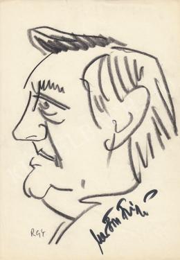 Rózsahegyi, György - Portrait of Frigyes Marton Director