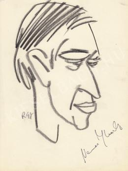 Rózsahegyi, György - Portrait of Károly Nemes Filmcritic