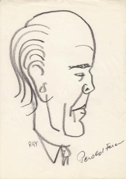 Rózsahegyi György - Pesold Ferenc író portréja